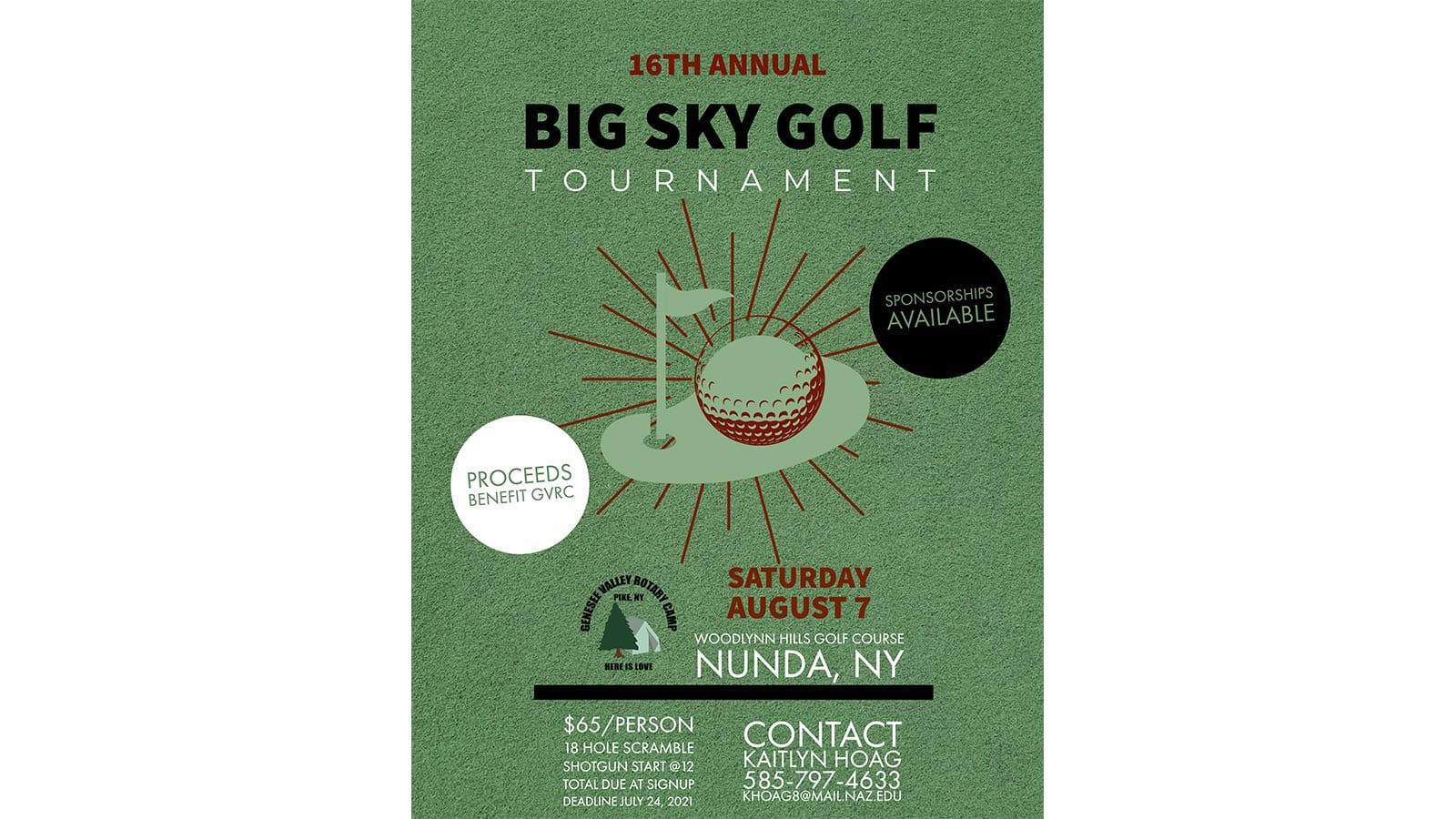 Big Sky Golf Tournament 2021