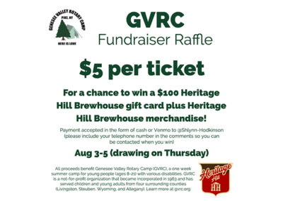 Heritage Hill Brewhouse GVRC Fundraiser